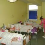 Krečenje porodilišta u Boru