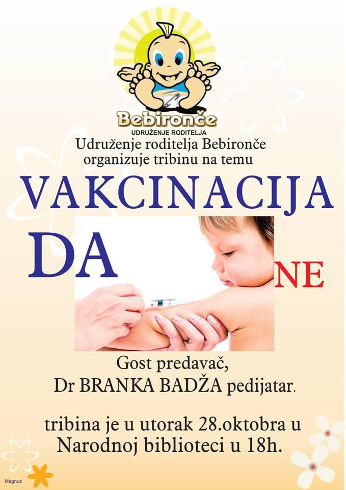 tribina vakcinacija
